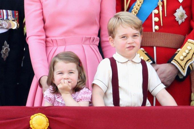 príncipe george e charlotte