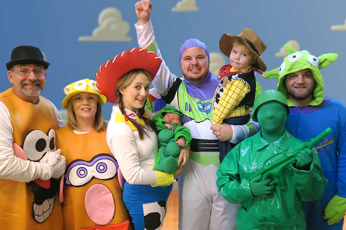 Festa infantil a fantasia