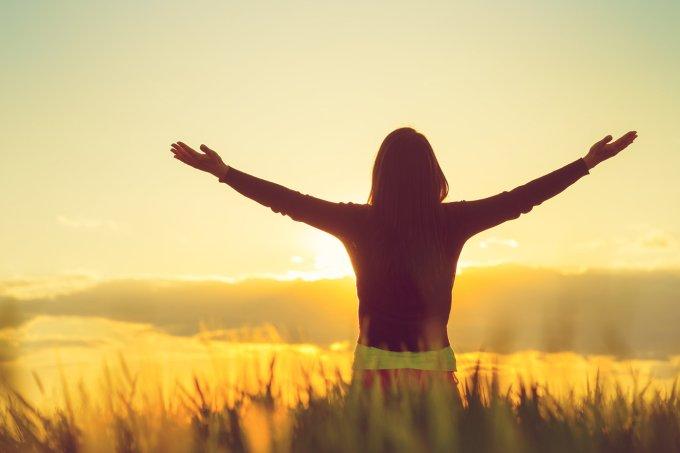gratidão—mulher