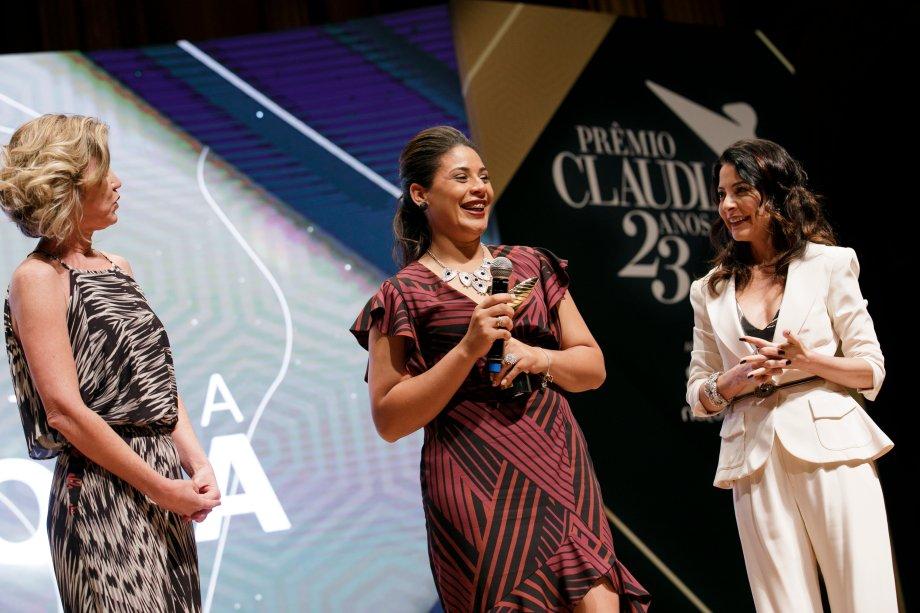 Bruna Coutinho, presidente da ONG União Pela Vida, de atendimento a pessoas com HIV, foi vencedora da categoria Consultora Natura Inspiradora