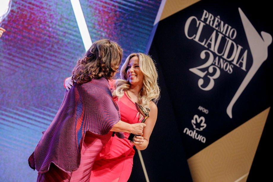 A empresária Gabryella Corrêa, fundadora do app Lady Driver, foi a vencedora na categoria Negócios.