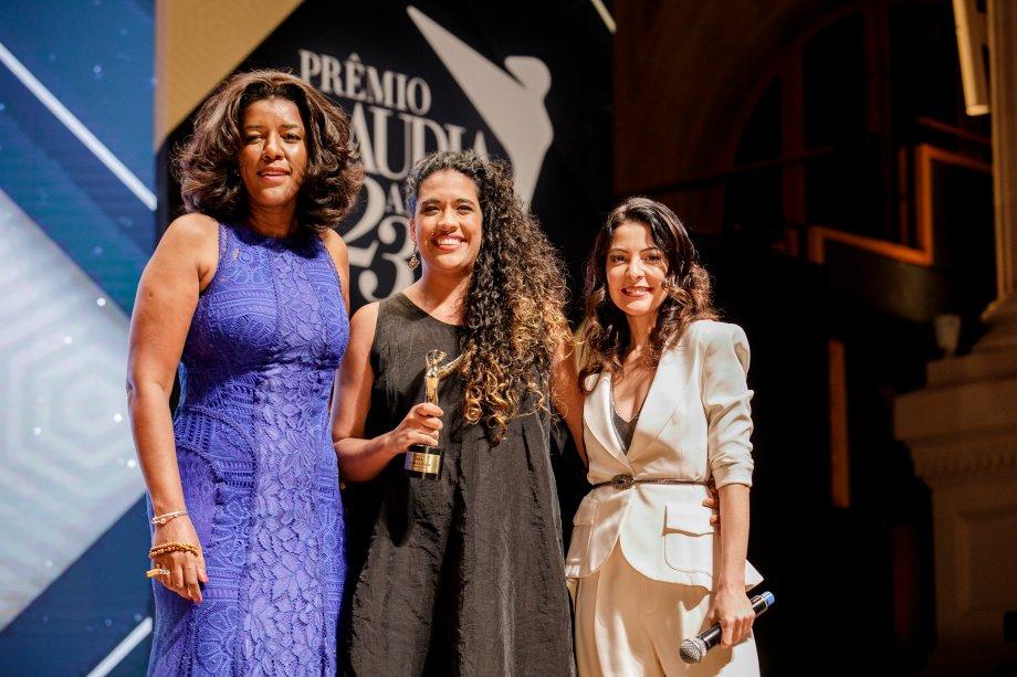 Andreza Jorge, diretora da Casa das Mulheres, que oferece cursos de empreendedorismo no Complexo da Maré<span>(</span>RJ), foi vencedora da categoria Revelação