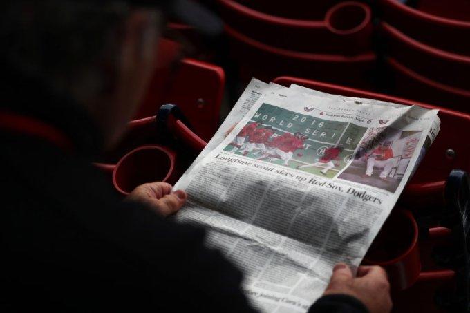 jornal – lendo – notícias