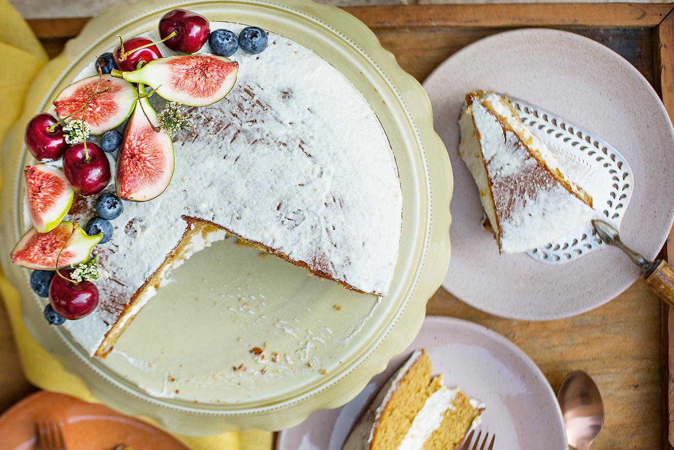 bolo com azeite e especiarias