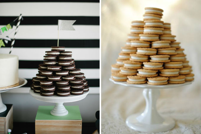 Torre de biscoito