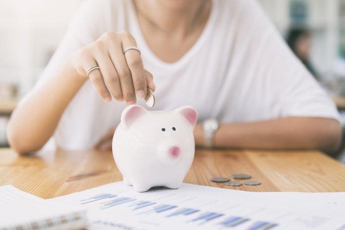 finanças—mulher