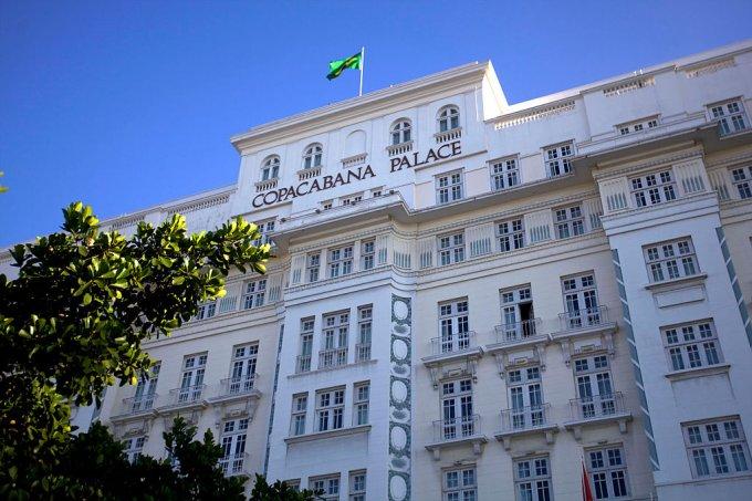 Brazil, Rio de Janeiro, the Copacabana Palace Hotel