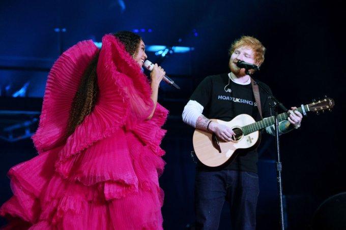 Beyonce-Ed Sheeran