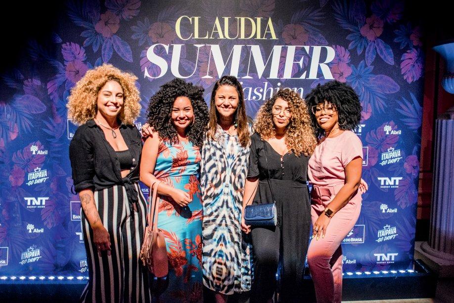 A diretora de CLAUDIA, Guta Nascimento, recebe as influenciadoras do Babadeiras do RJ