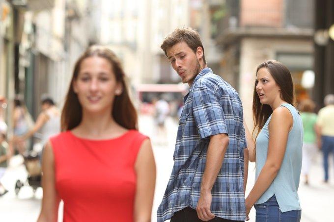 meme traição