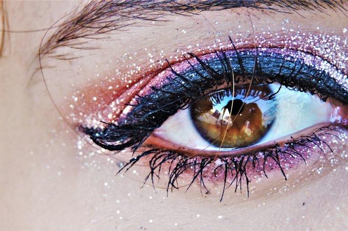 glitter maquiagem brilho olho