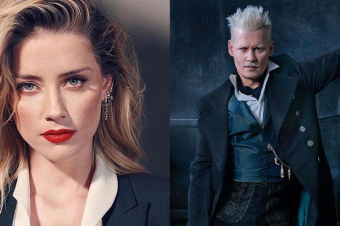 Amber Herad e Johnny Depp