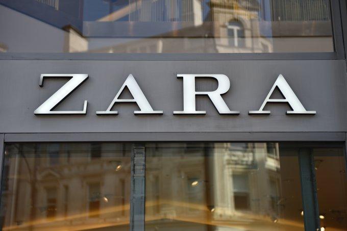 Zara loja vitrine