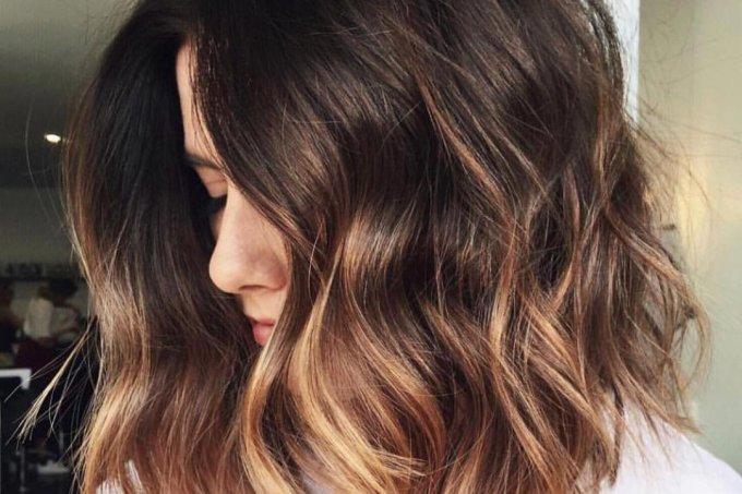 cabelo ombre