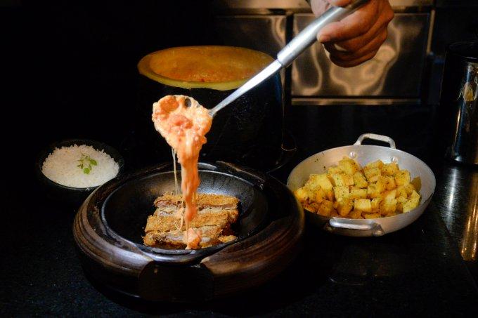 parmegiana al formaggio Ines de Divitiis Gianni