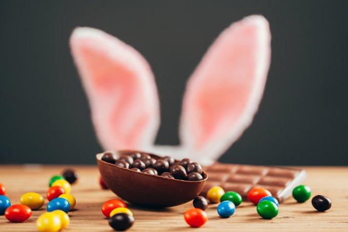 ovo de páscoa chocolate
