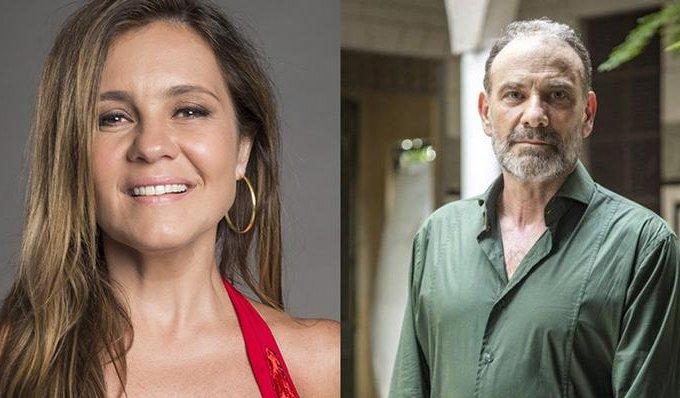 Adriana Esteves e Marco Ricca