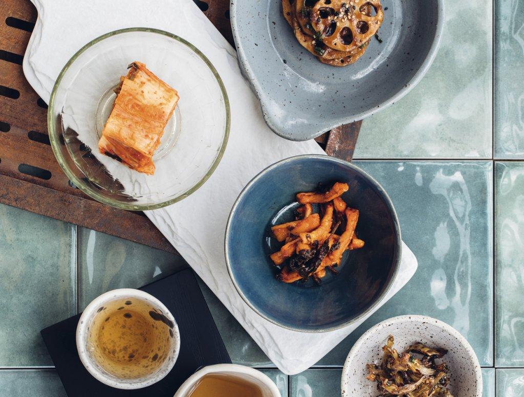 Prato coreano de banchans