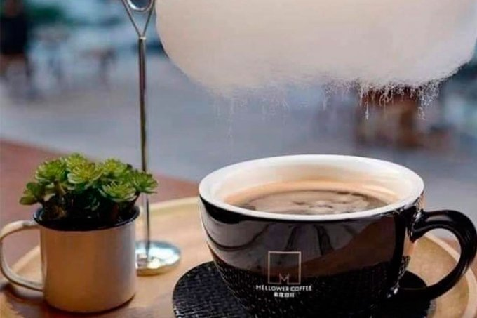 Mellower Coffee café nuvem