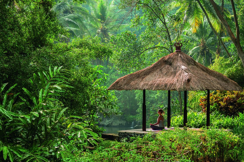 Meditação em Bali