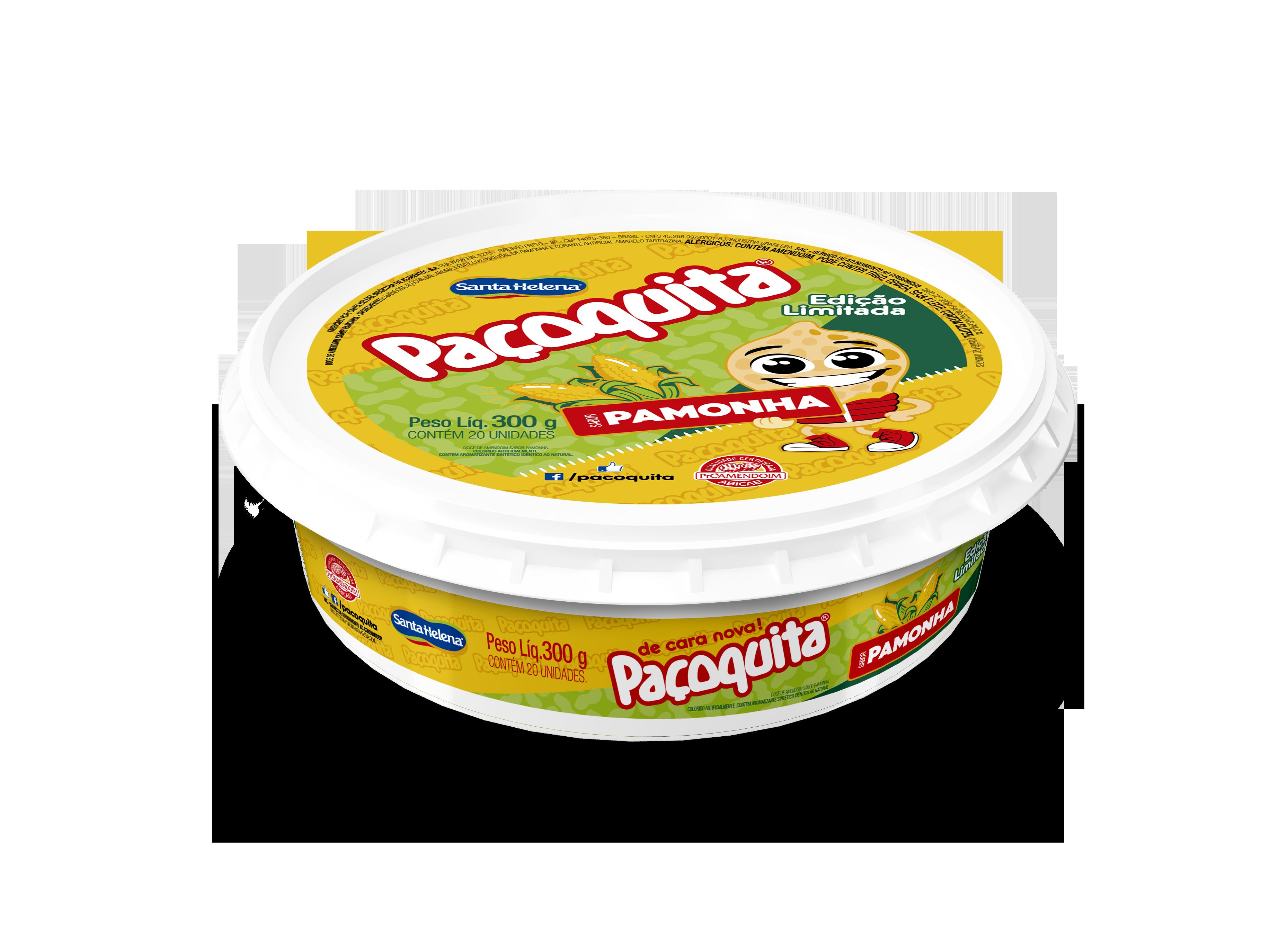 Paçoquita Pamonha