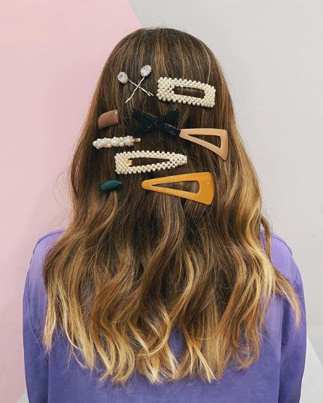 Presilhas para cabelo