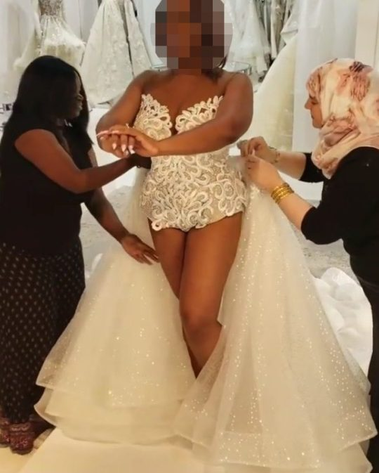 Vestido de noiva maiô