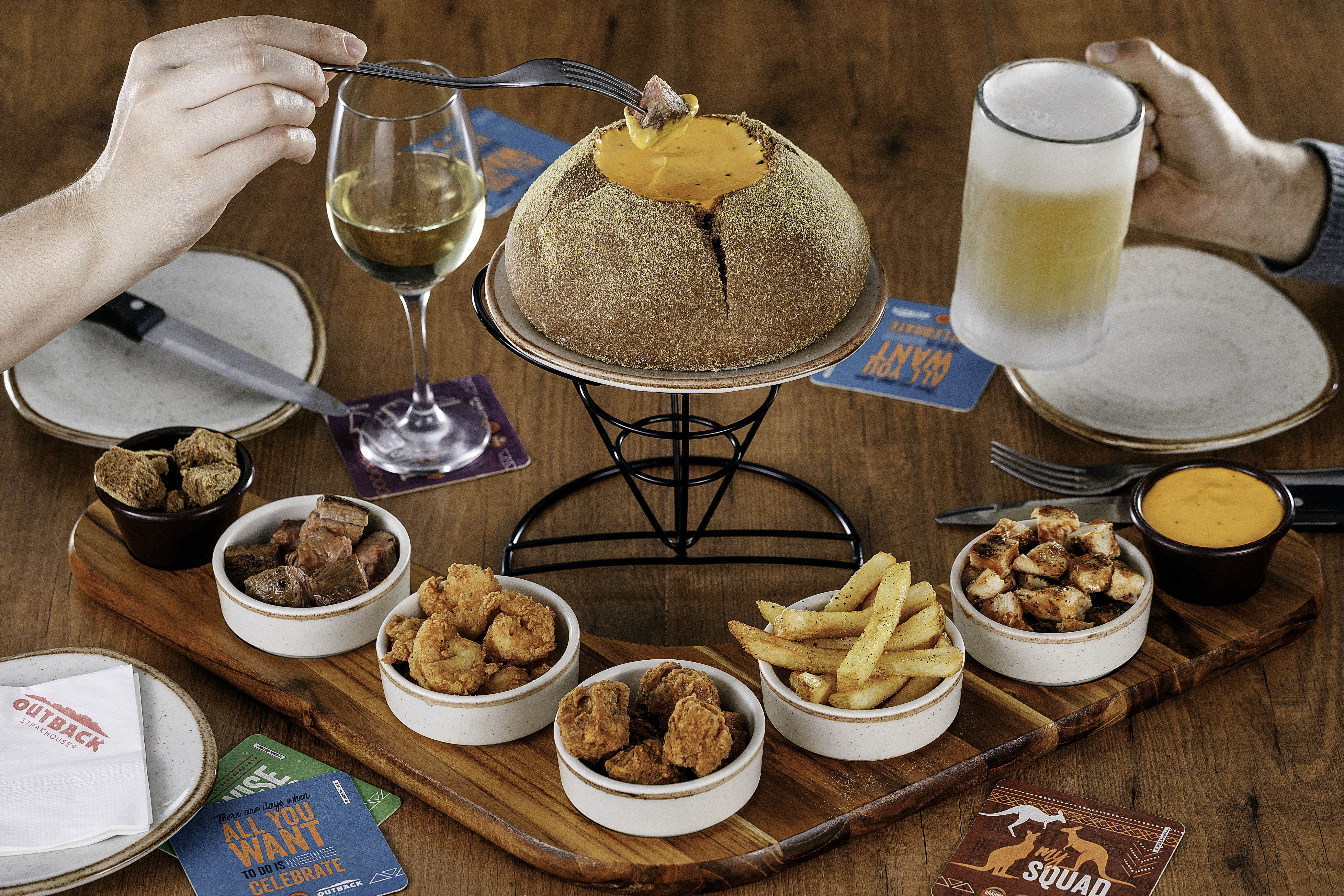 Cheese Fondue Outback