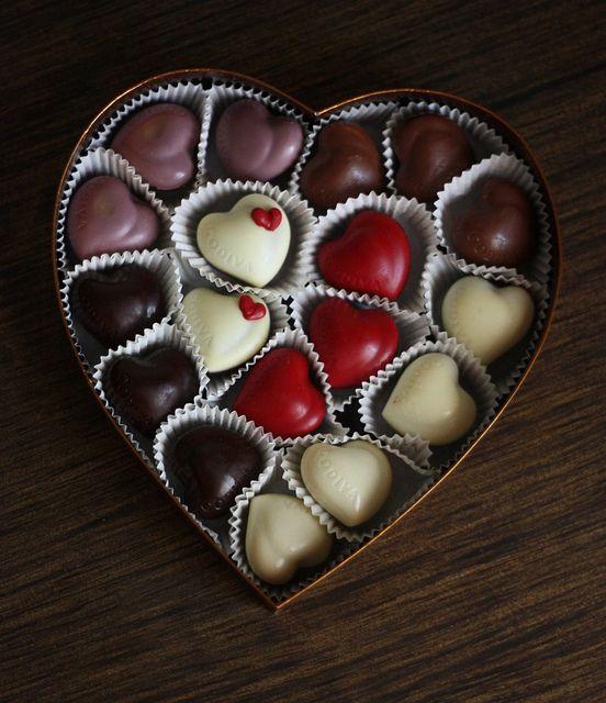 Chocolate para dia dos namorados