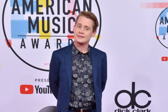 Macaulay Culkin no American Music Awards 2018