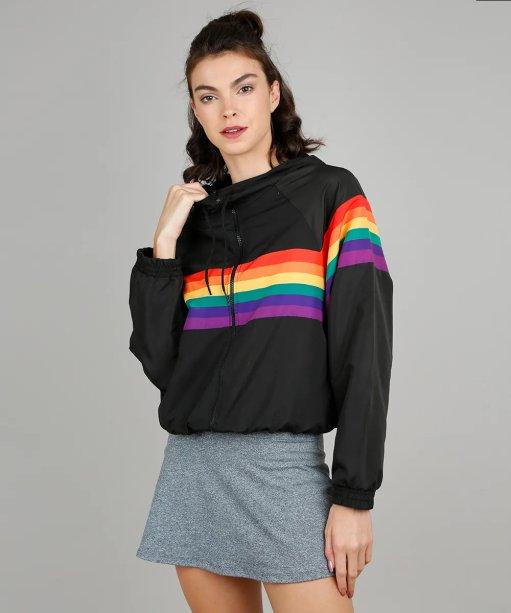 Jaqueta corta vento Pride, C&A - R$ 159,99