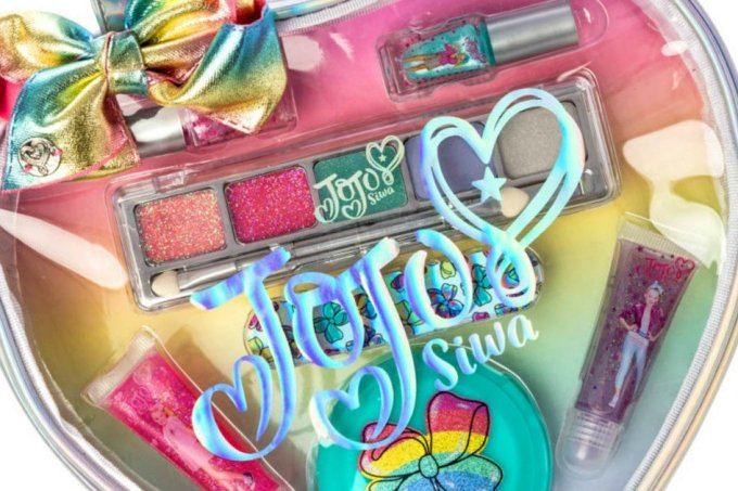 Jojo Siwa kit de maquiagem