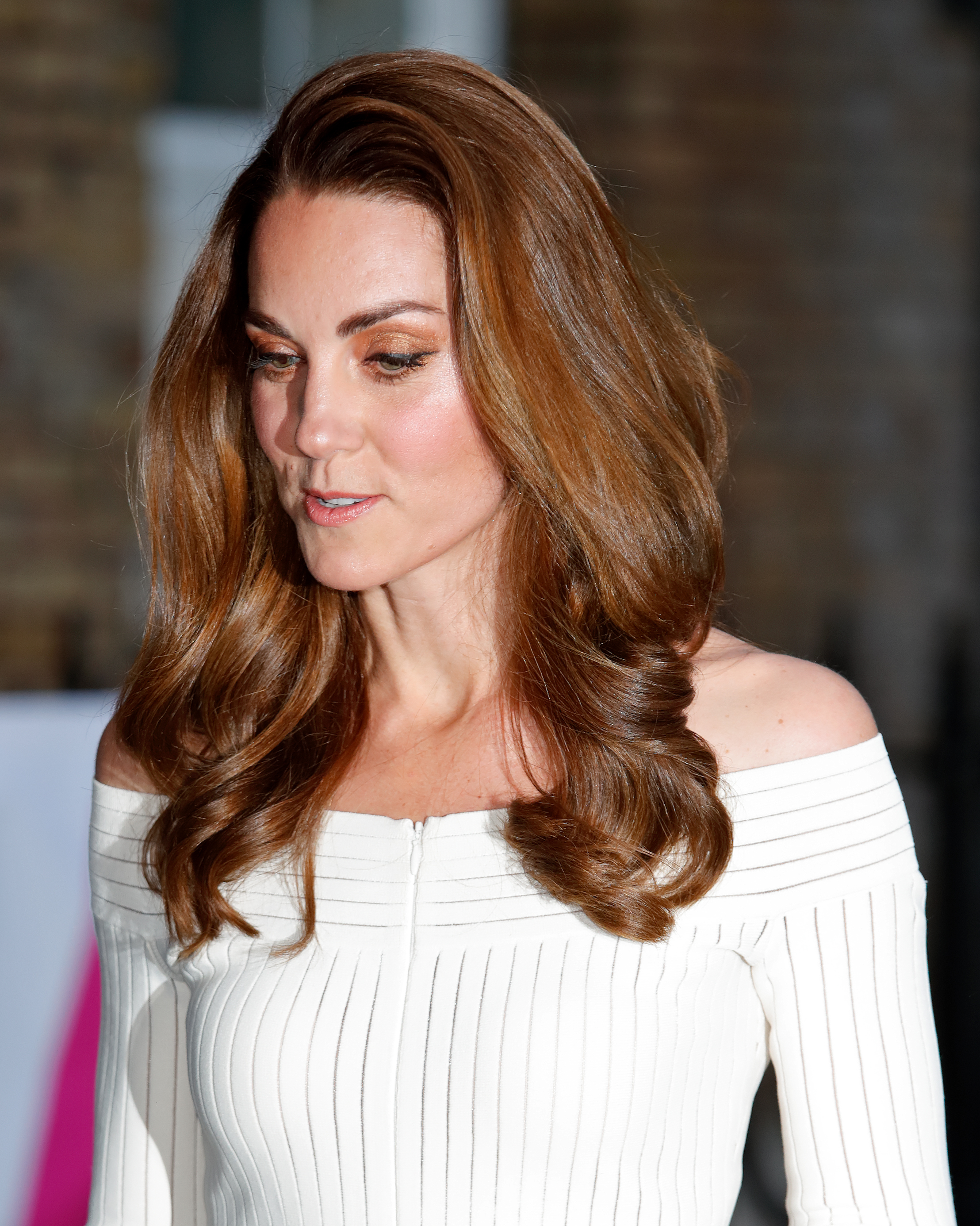 Kate Middleton cabelo caramelo