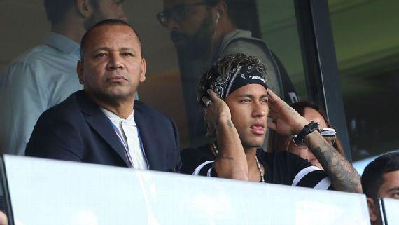 Neymar e seu pai