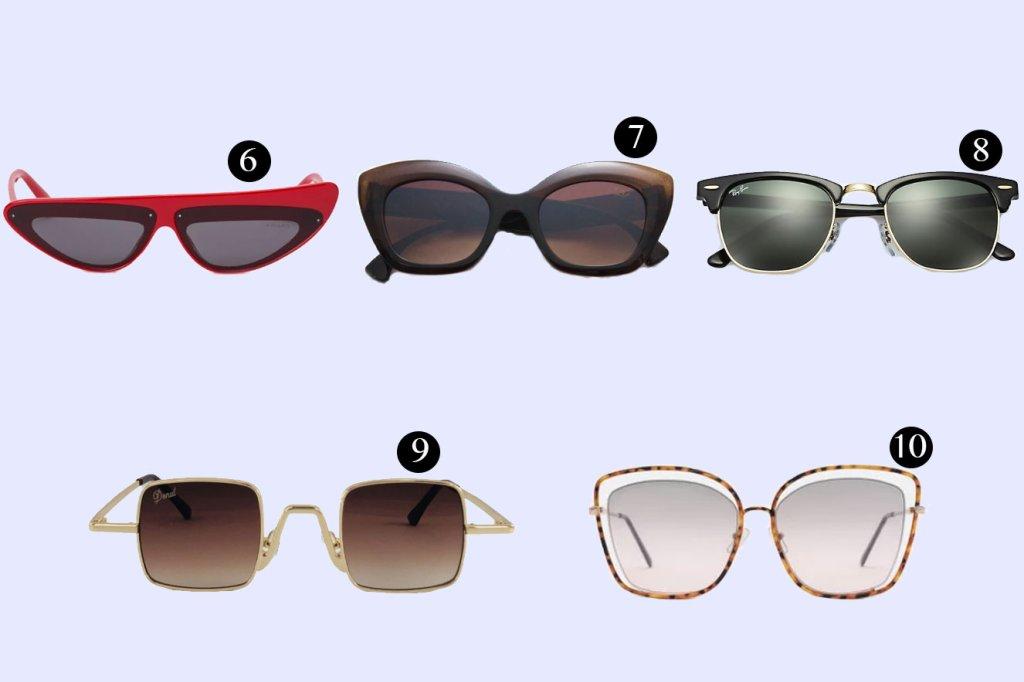 Óculos de sol para o inverno