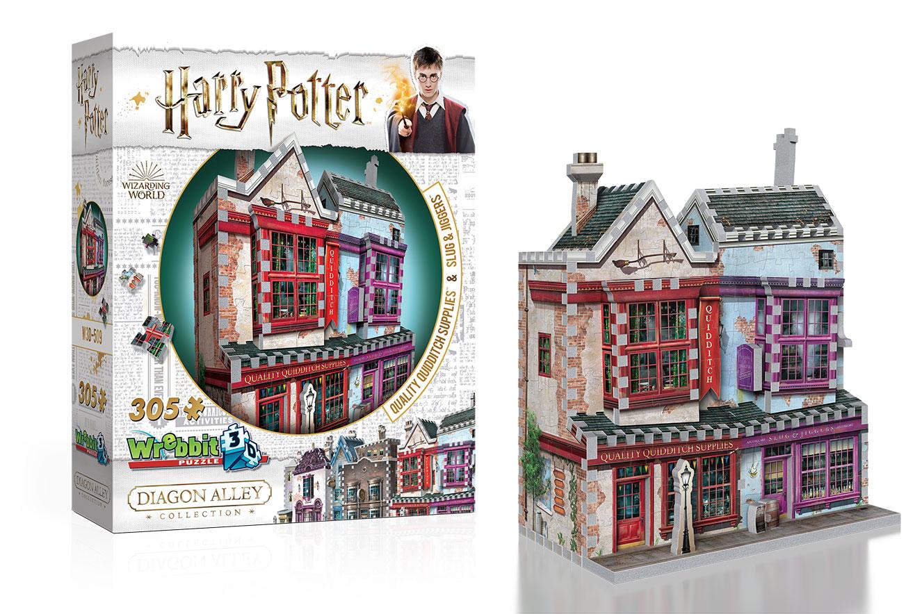 Quebra-cabeças 3D Harry Potter