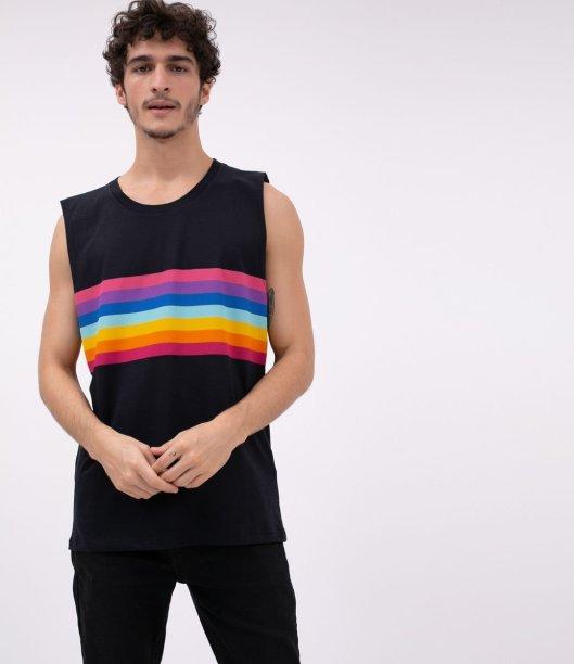 Regata com estampa arco íris, Renner -R$ 39,90