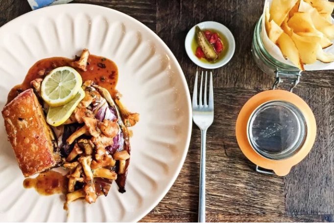 Gastronomia francesa e brasileira