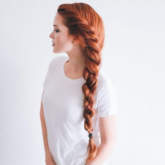 trança para cabelos compridos