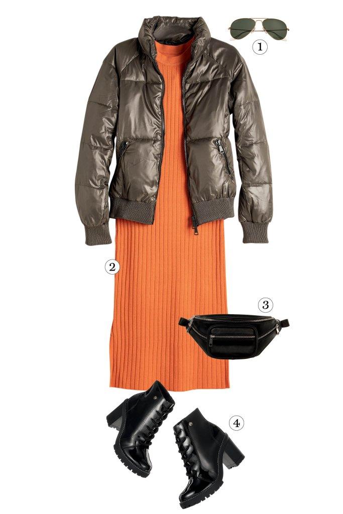 Looks com jaqueta doudoune