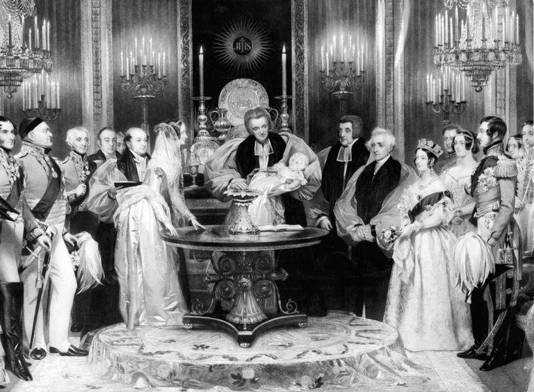 Batizado da princesa Vitória
