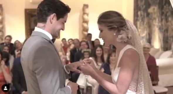 Casamento de Alexandre Pato e Rebeca Abravanel