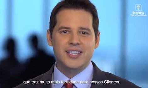 Dony De Nuccio em vídeo da Bradesco Seguros