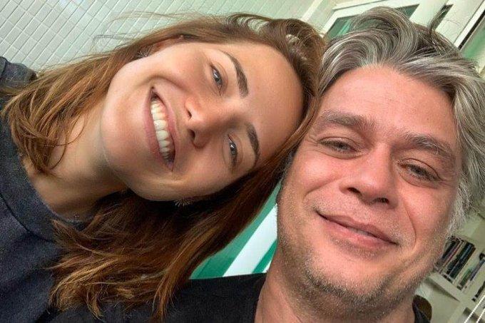 Fábio Assunção e Leticia Colin