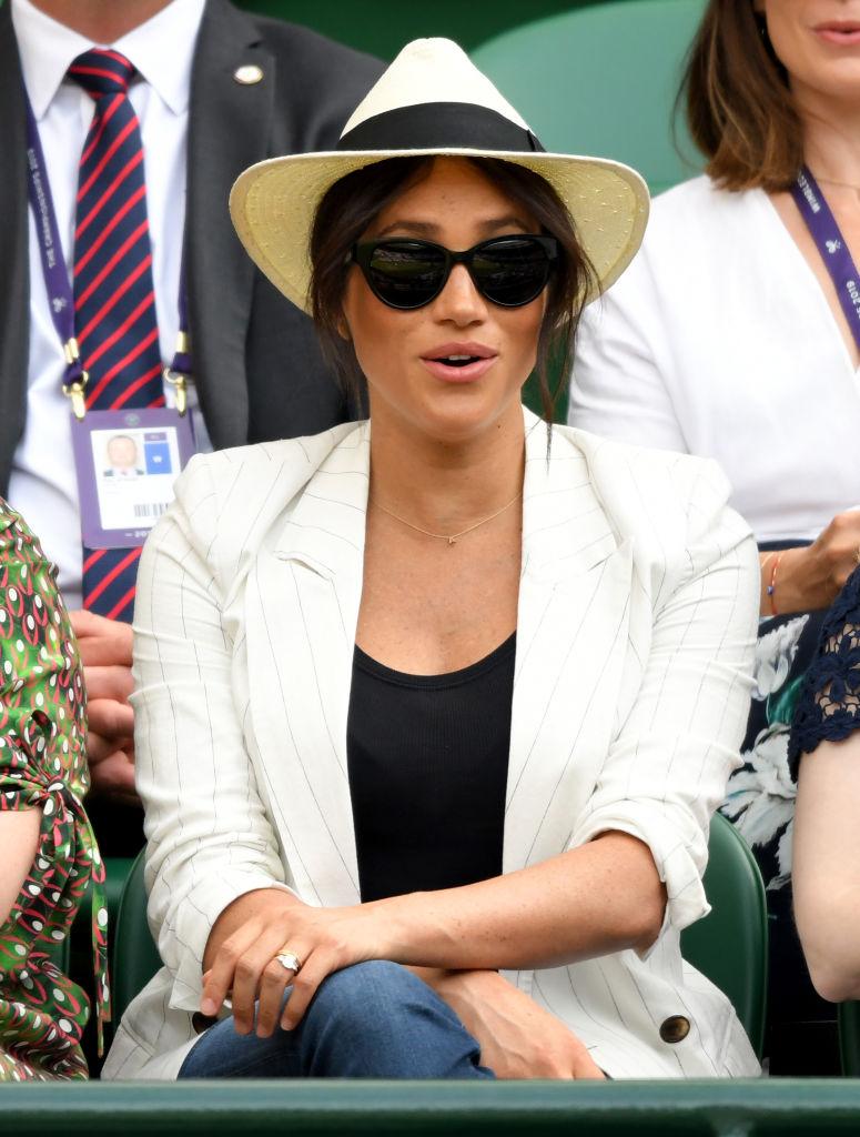 Meghan Markle no Torneio de Wimbledon