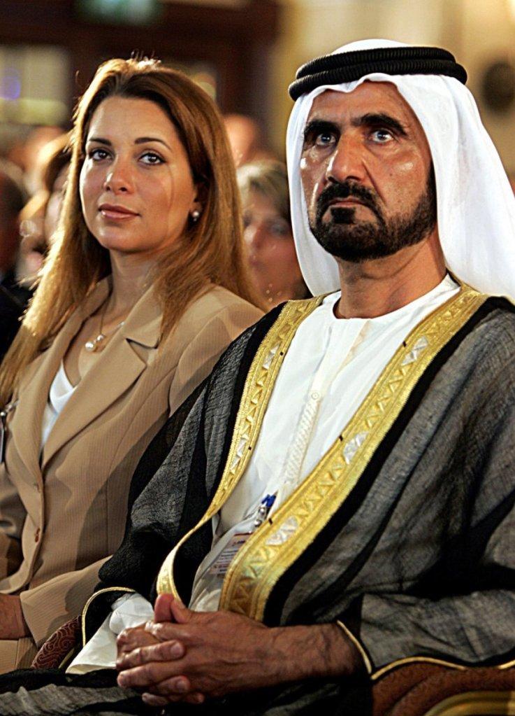 Princesa Haya e o marido, xeque Mohammed