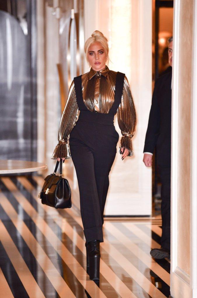 Lady Gaga em Nova York no dia 1 de julho