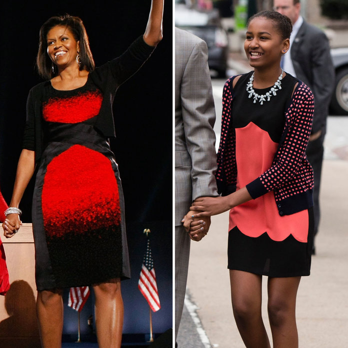 Michelle e Sasha Obama