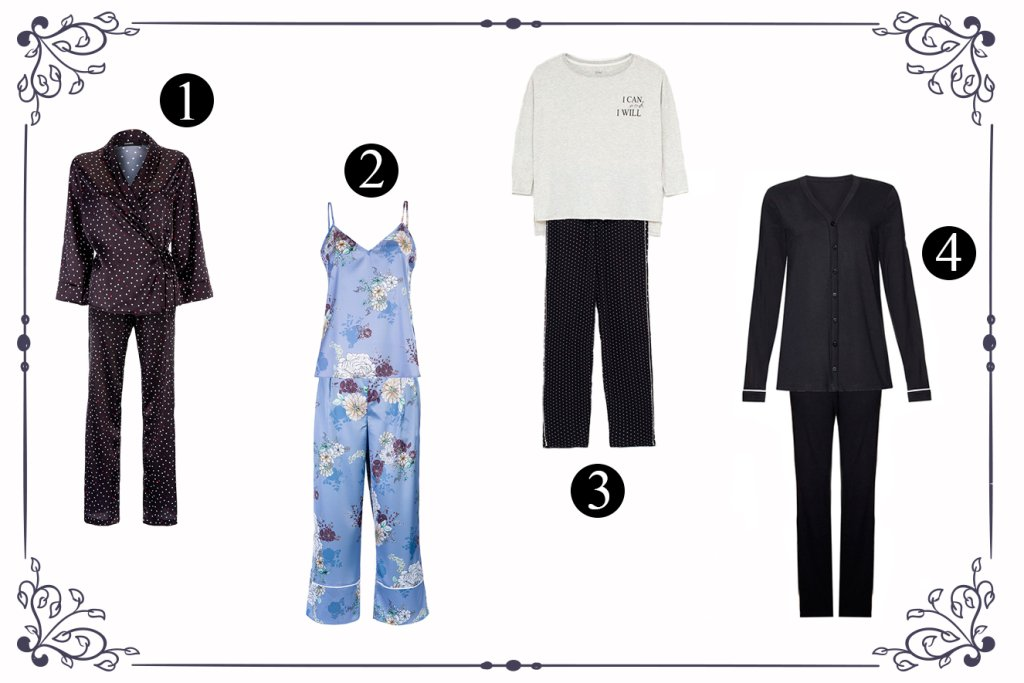Seleção de pijamas