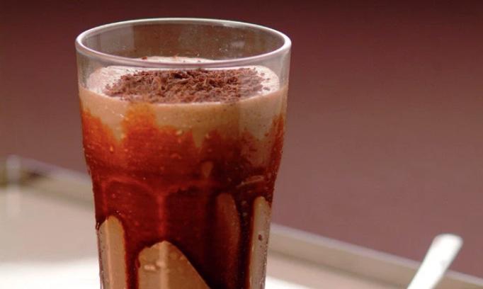 Milk-shake de chocolate